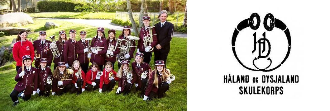 Håland og Dysjaland skulekorps